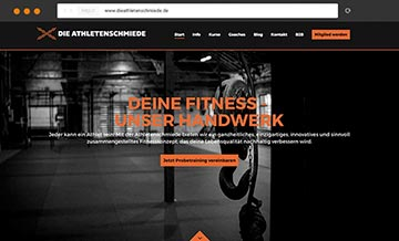 Corporate Design Fitnessstudio Düsseldorf